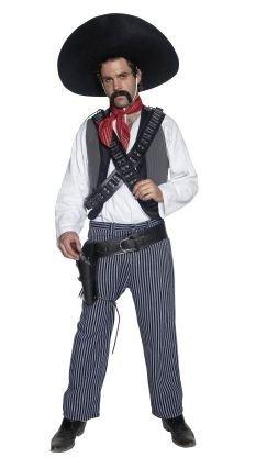 idealWigsNet Disfraz de Bandido Mexicano Occidental: Amazon.es ...