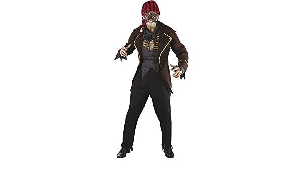 DISONIL Disfraz Pirata Zombi Hombre Talla L: Amazon.es: Juguetes y ...