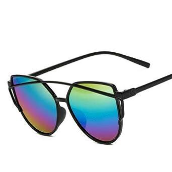 Amazon.com: XuBa 2019 - Gafas de sol para mujer, diseño de ...