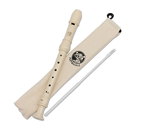 CASCHA EH 3908 Lilli's Recorder Set with Bag & Cleaning Rod (German Fingering) by CASCHA