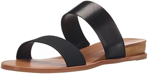 Dolce Vita Women's Payce Wedge Sandal, Black Lizard Embossed Stella, 6 M US