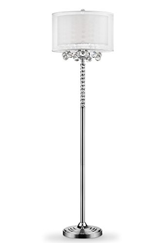 OK Lighting OK-5149F Moiselle Floor Lamp, 61.5