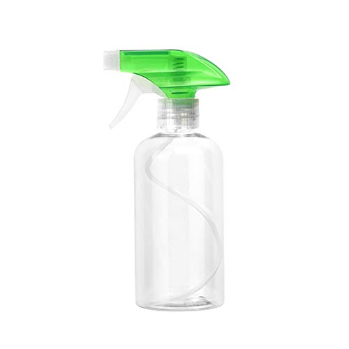 Sizet Spray Bottles for Cleaning Solutions 16 oz Empty Clear, Alcohol Resistant Refillable Container with Adjustable Sprayer