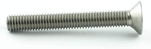 ISO 7046 Senkkopf Schrauben 10 St/ück - DIN 965 Edelstahl A2 V2A Vollgewinde M2 x 3 mm Senkkopfschrauben mit Kreuzschlitz Z Gewindeschrauben rostfrei Eisenwaren2000