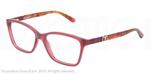 Dolce & Gabbana Montures de lunettes 3153P Iconic Logo Pour Femme Black, 52mm 2690: Dark Pink