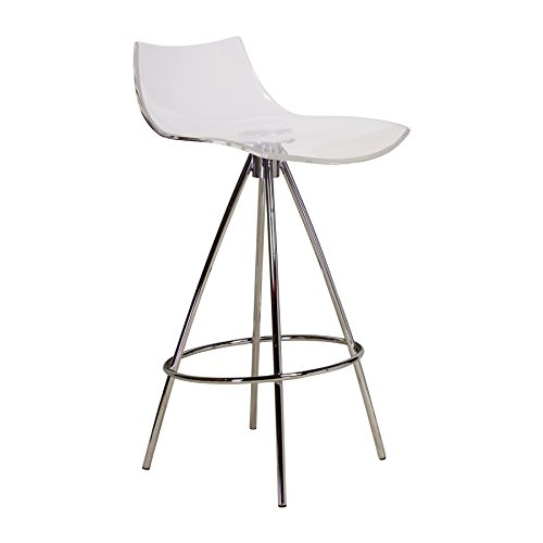 Design Tree Home Calligaris Ice Style Clear Counter Stool