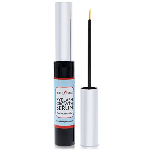 Eyelash Growth Serum By Belle Jemme - Lash Growth Serum, Eyelash Serum - Grow Longer, Fuller Brows And Lashes - Non-Irritating Serum For Safe & Fast Results - For Irresistible Eyes And Envious Glances
