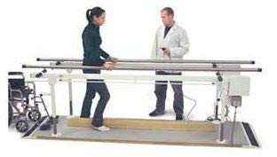 Power Height & Width Parallel Therapy Bars