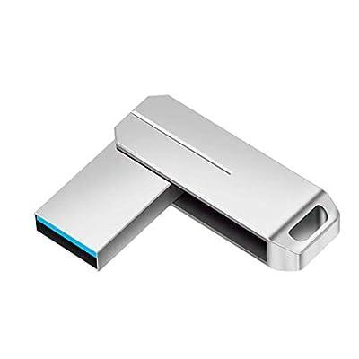 FYEO 1TB USB 3.1 Flash Drives Pen Drive Memory Stick Thumb Drive USB Drives (1TB Silver) (Silver) from FYEO