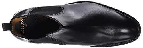 Lottusse ebony Negro Chelsea Homme Bottes Negro Ebony L6607 Noir rxwAXqrY