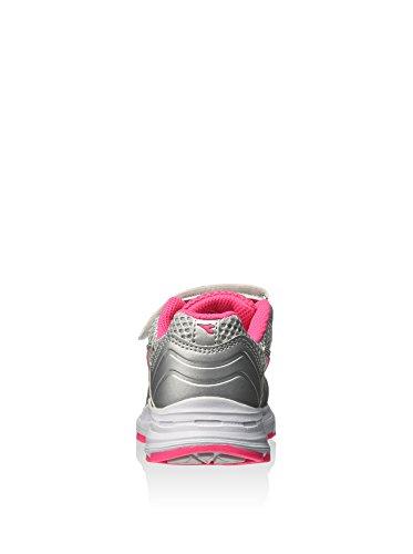 Eu Uk 35 Zapatillas 2 Diadora Plateado Shape 5 Jr rosa V 5 6P60Ux1