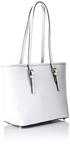 Shoppers Blanco Mujer Borse Hombro bianco Y Chicca De Bolsos Cbc3303tar wTqn1