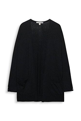 Black ESPRIT Donna Cardigan 001 Nero 0txARtqw