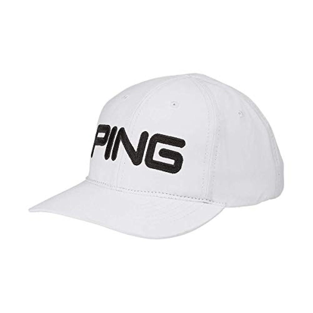 [해외] 2020 PING 핑 LIGHT CAP 프리 사이즈 화이트/블랙(01) 캡 34697 US모델