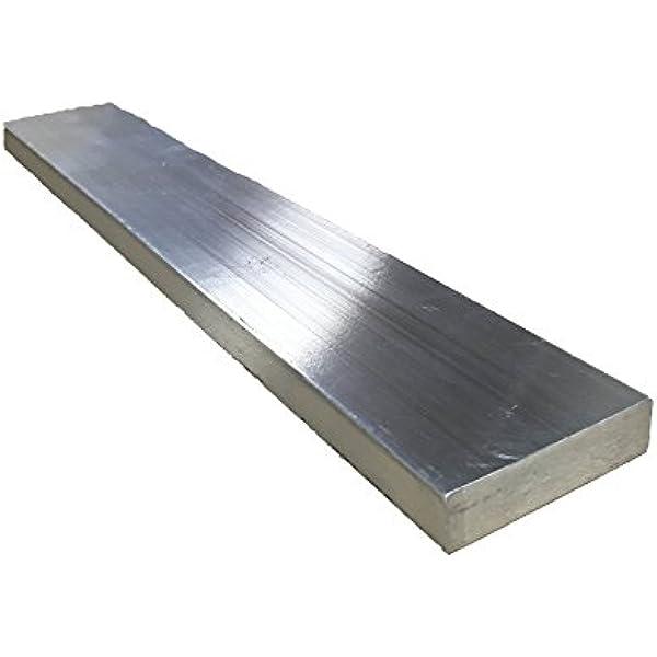 """1/"""" x 2/'/' Aluminum 6061 Flat Bar 18/"""" length"""
