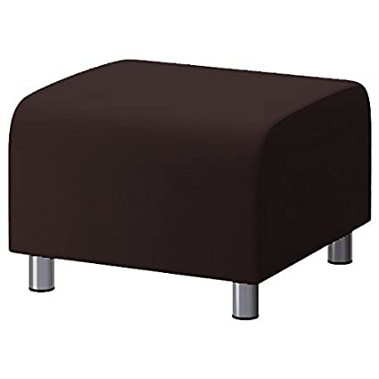 Admirable Changing Sofas Brown 100 Cotton Replacement Slipcover For Ikea Klippan Footstool Creativecarmelina Interior Chair Design Creativecarmelinacom