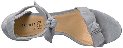 Chambray Sandal Rhonda Semsket Laundry Kvinners Svart Kjole Chinese xwF8q06gn