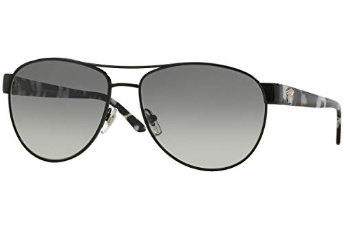 8606a809ceb9 Versace 2145 100911 Black 2145 Aviator Sunglasses Lens for sale Delivered  anywhere in USA