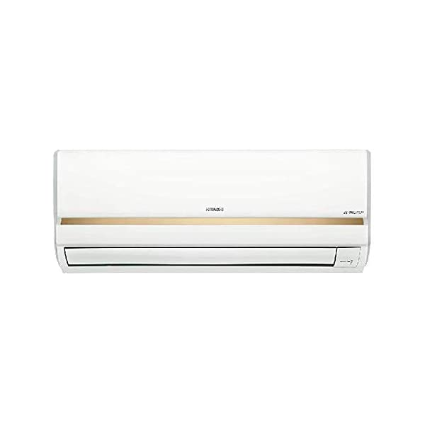 HITACHI CSFG312HEDO 1 TON 3 Star Split AC White with Golden Strip 2021 July Windows AC: Economical and easy to install Capacity: 1 Ton. Suitable for medium sized rooms Energy Rating: 3 Star. ISEER Value: 3.09 (Please refer energy label on product page or contact brand for more details)