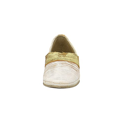 Charme Damen Slipper/Loafer Weiß