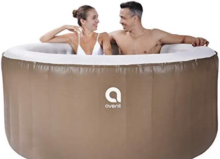 Qicaso 3 Person Inflatable Spa Hot Tub
