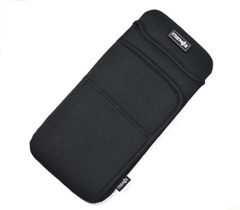 Cosmos Black Color Neoprene Carrying Protection Sleeve Case Cover for Apple Wireless Keyboard & Magic Mouse and Magic Trackpad