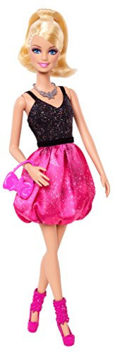 (Barbie Fashionista Party Glam Barbie Doll, Pink and Black)