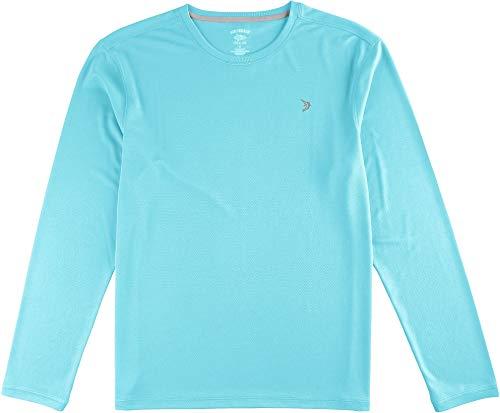 5b05cafb14cf27 Reel Legends Mens Freeline Long Sleeve Shirt Medium Bachelor Button Blue