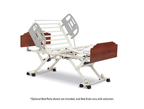 Invacare Bed Hospital Standard - CS7 Bed, Drake, Biltmore Cherry Bed Ends