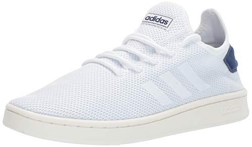 adidas Men's Court Adapt, White/Dark Blue, 9 M ()