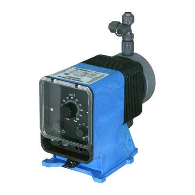 PVDF Head and Fittings Pulsafeeder Pump Model LPG4SA-KTC1-XXX 115V 42 GPD 150 psi max Output