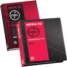 NEC Softbound and Handbook Set, 2017 Edition by National Fire Protection Association