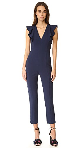 Black Halo Women's Deklyn Jumpsuit, Pacific Blue, 10