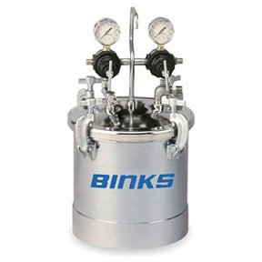 2-1/2 GAL CODE PRSSR TNK ASSY (BIN-83C-220) by Binks