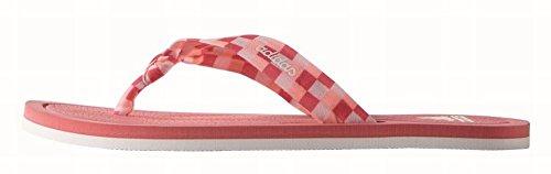 adidas Litha Tex W, Chanclas para Mujer Rosa / Blanco (Rubsup / Ftwbla / Rolhal)