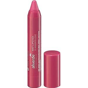 Alverde NATURKOSMETIK Mat Rouge à lèvres Magenta Love 20 1 x 3,7 ml