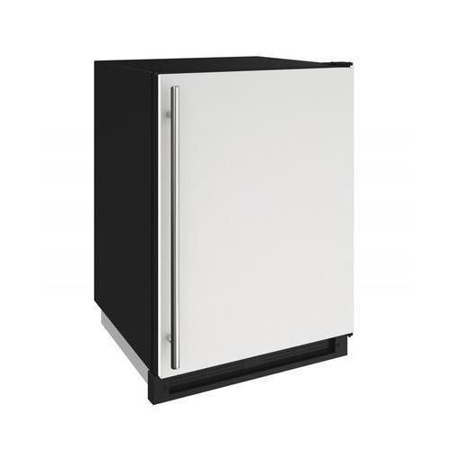 U-line White Refrigerator - U-Line U1224FZRW00A 24