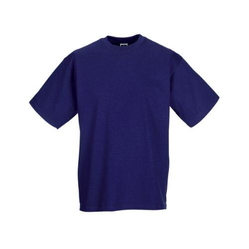 Jerzees Colours Mens Classic Short Sleeve T-Shirt (XL) (Purple)