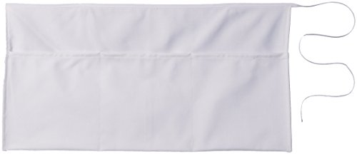 Mark Richards Wear'm 155 3-Piece Waist Apron, White (Promotional Apron)