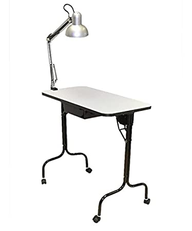 Amazon pibbs 974 manicure table fold legs with lamp beauty pibbs 974 manicure table fold legs with lamp aloadofball Image collections