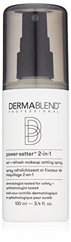 Dermablend Makeup Setting Spray Set + Refresh for Long Lasting Makeup Wear, 3.4 Fl. Oz. by Dermablend