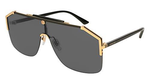 Gucci gg0291s 100% Authentic Men's Sunglasses Gold ()