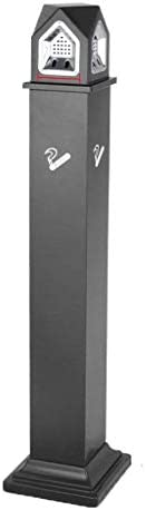 立っている屋外の床の立っている灰皿、現代的な床のスタンドの灰皿、屋外の高さ119cmのパティオのゴミ箱