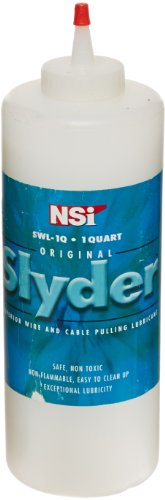 nt, Slyder Standard Grade Cable Lubricant, 1 qt Squeeze Bottle (Cable Pulling Lubricant)
