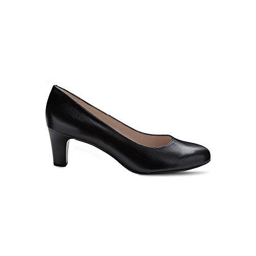 NIKA tacón cerrados Kaiser Peter Zapatos para Negro de mujer Pwax5q