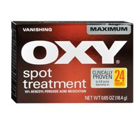 Oxy Oxy Maximum Vanishing Spot Treatment Clearing Cream, 0.65 oz (Pack of (Oxy Spot)