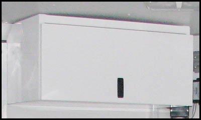 Triton 09256 Aluminum Two Helmet Storage Cabinet by Triton