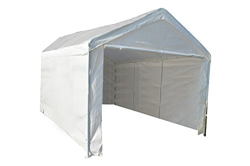 Complete Outdoor Party Canopy Shed Car Cover Garage Cover (10' x 20')
