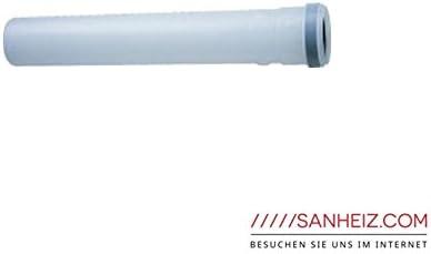 Junkers condensación de gases de accesorios de plástico PPS, DN 80, aire/gases garantía 2000mm AZB 612