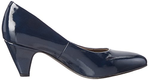Tamaris Damen 22416 Pumps Blau (Navy Patent 826)